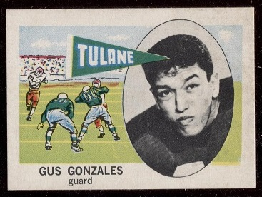 1961 Nu-Card #133 - Gus Gonzales - nm