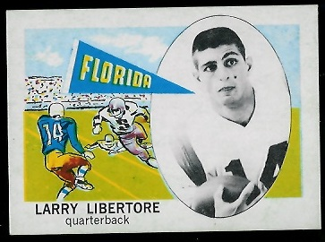 1961 Nu-Card #135 - Larry Libertore - nm