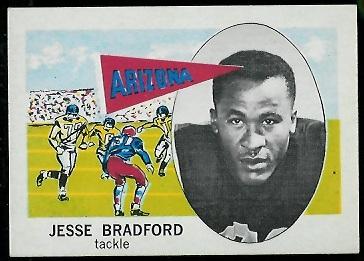 1961 Nu-Card #138 - Jesse Bradford - nm