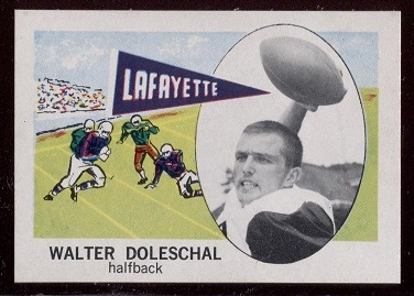 1961 Nu-Card #140 - Walter Doleschal - nm-mt