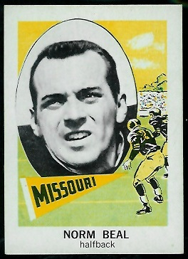1961 Nu-Card #149 - Norm Beal - nm
