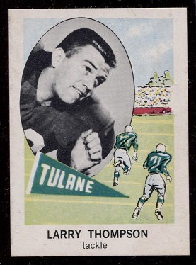 1961 Nu-Card #153 - Larry Thompson - nm