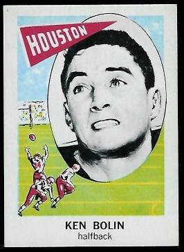 1961 Nu-Card #155 - Ken Bolin - nm