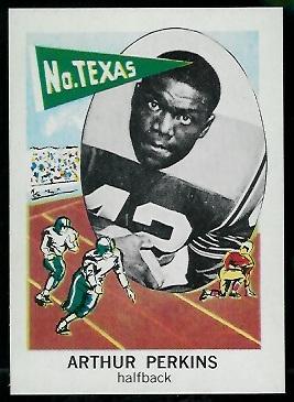 1961 Nu-Card #156 - Art Perkins - nm-mt