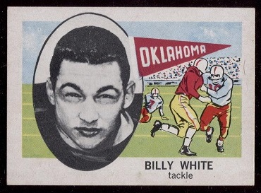 1961 Nu-Card #167 - Billy White - nm+