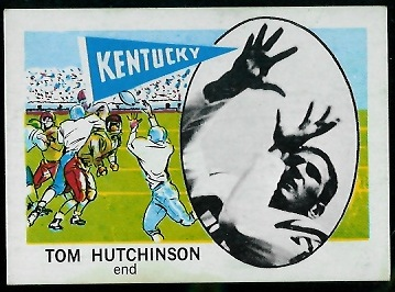 1961 Nu-Card #171 - Tom Hutchinson - nm