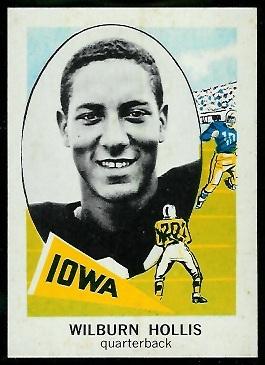 1961 Nu-Card #173 - Wilburn Hollis - nm-mt