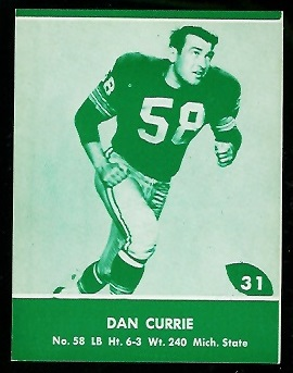 1961 Packers Lake to Lake #31 - Dan Currie - nm+