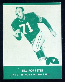 1961 Packers Lake to Lake #9 - Bill Forester - nm+