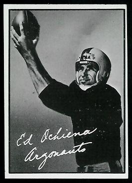 1961 Topps CFL #112 - Ed Ochiena - exmt