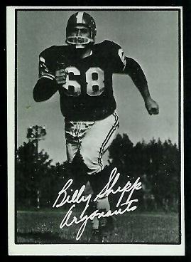 1961 Topps CFL #116 - Billy Shipp - exmt
