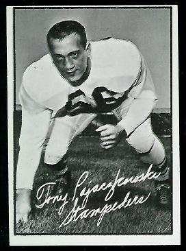 1961 Topps CFL #25 - Tony Pajaczkowski - nm+ oc