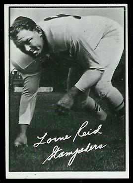1961 Topps CFL #26 - Lorne Reid - nm+ oc