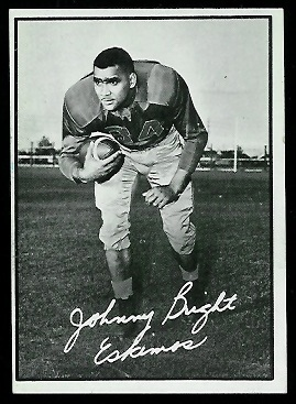1961 Topps CFL #30 - John Bright - exmt
