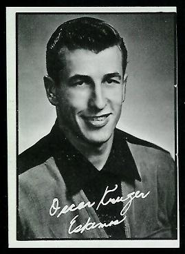 1961 Topps CFL #36 - Oscar Kruger - ex