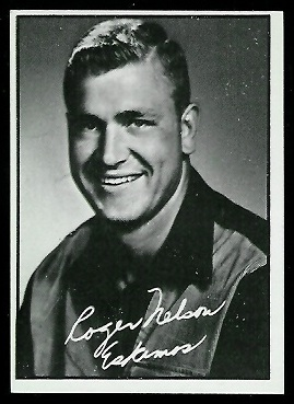 1961 Topps CFL #38 - Roger Nelson - nm oc