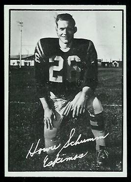 1961 Topps CFL #40 - Howie Schumm - exmt