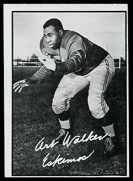 1961 Topps CFL #42 - Art Walker - ex
