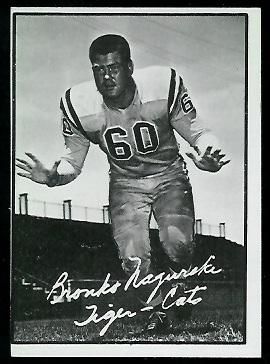 1961 Topps CFL #53 - Bronko Nagurski Jr. - nm+ oc