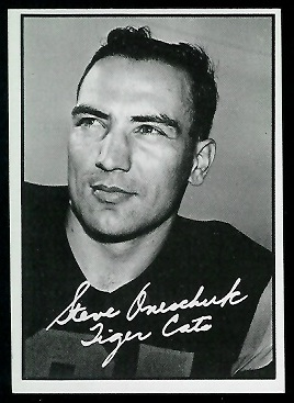 1961 Topps CFL #55 - Steve Oneschuk - nm
