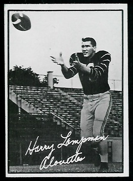 1961 Topps CFL #64 - Harry Lampman - ex