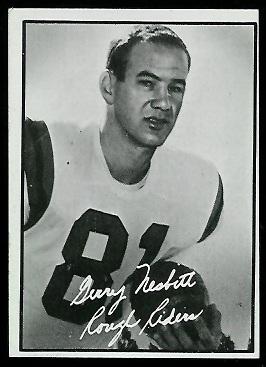1961 Topps CFL #78 - Gerry Nesbitt - nm oc