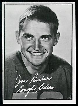 1961 Topps CFL #81 - Joe Poirier - exmt