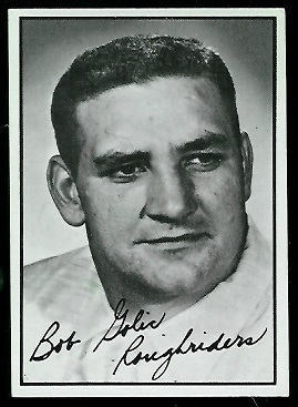 1961 Topps CFL #94 - Bob Golic - exmt