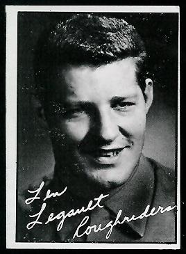 1961 Topps CFL #97 - Len Legault - ex