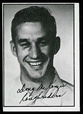 1961 Topps CFL #98 - Doug MacKenzie - ex