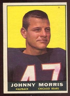 1961 Topps #11 - Johnny Morris - ex