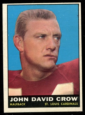 1961 Topps #116 - John David Crow - nm+ oc