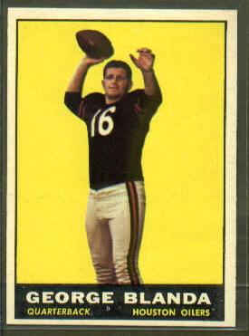 1961 Topps #145 - George Blanda - nm+