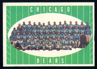 1961 Topps #18 - Chicago Bears Team - nm-mt oc