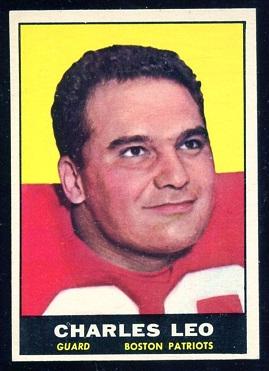 1961 Topps #180 - Charley Leo - nm