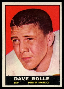 1961 Topps #197 - Dave Rolle - nm