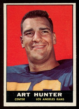 1961 Topps #53 - Art Hunter - nm
