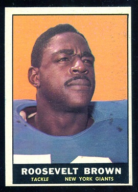 1961 Topps #88 - Roosevelt Brown - nm