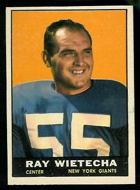 1961 Topps #89 - Ray Wietecha - nm