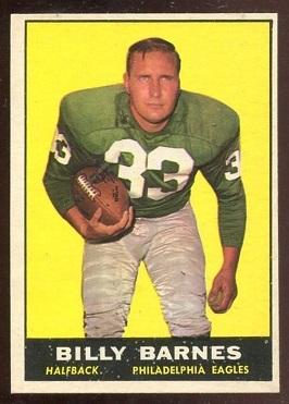 1961 Topps #97 - Bill Barnes - nm oc
