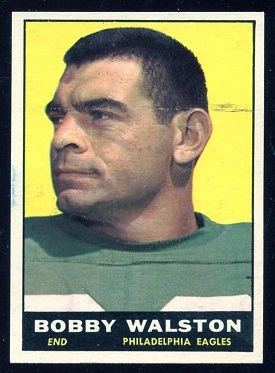 1961 Topps #98 - Bobby Walston - exmt