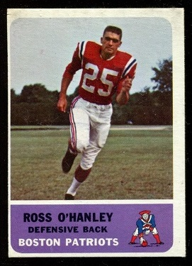 1962 Fleer #11 - Ross O'Hanley - ex