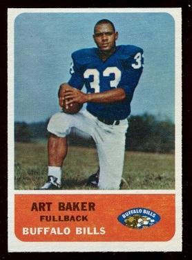 1962 Fleer #12 - Art Baker - nm oc