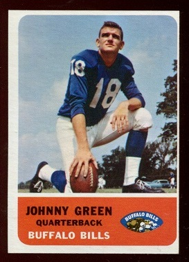1962 Fleer #13 - Chuck Green - nm-mt oc