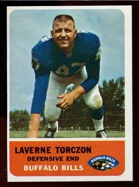 1962 Fleer #21 - Laverne Torczon - nm-mt oc