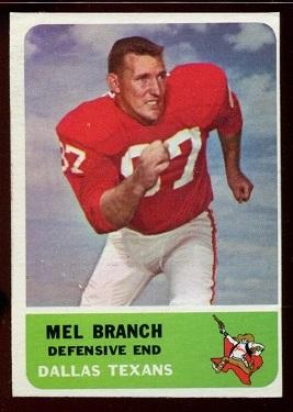 1962 Fleer #32 - Mel Branch - exmt