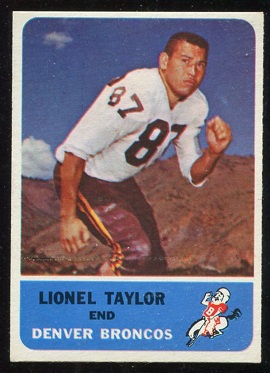 1962 Fleer #36 - Lionel Taylor - nm oc