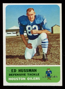 1962 Fleer #55 - Ed Husmann - nm