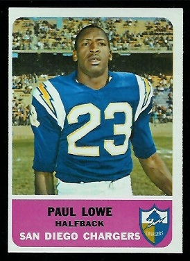 1962 Fleer #80 - Paul Lowe - nm+ oc