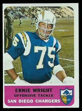 1962 Fleer #83 - Ernie Wright - nm-mt oc